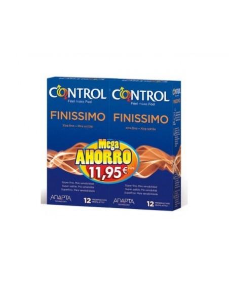 Control preservativos finissimo pack 12+12