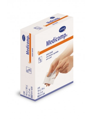 Medicomp gasas esteriles 10x10 20unid