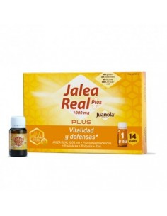 Jalea real juanola plus 14 viales