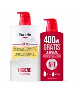 Eucerin ph5 oleogel ducha 1000ml