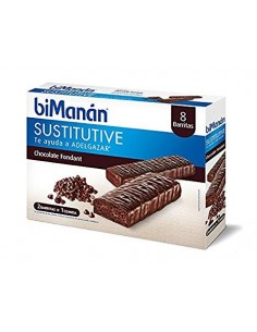 Bimanan barritas chocolate fondant 8unid