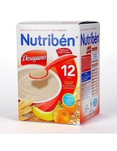 Nutribén desayuno trigo con frutas 600gr