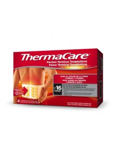 THERMACARE ZONA LUMBAR Y CADERA 4 PARCHES TERMIC