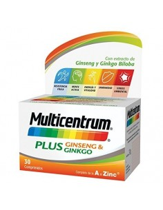 Multicentrum plus ginseng & ginko 30comp
