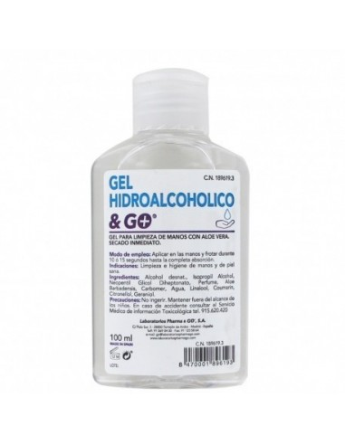 Gel hidroalcoholico 100ml