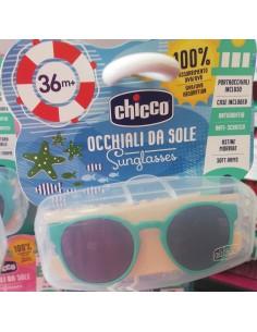 Gafas de sol chicco verde y azul 36m+