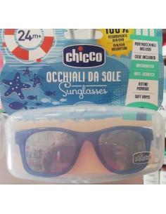 Gafas de sol chicco azul transparente 24m+