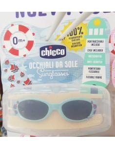Gafas de sol chicco azul 0m+