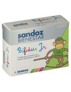 Sandoz bienestar bifidus jr monodosis 10 sobr.