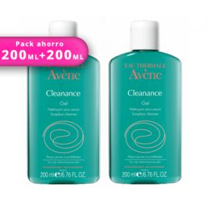 DUPLO Avene Cleanance gel limpiador 200ml+200ml