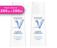 DUPLO Vichy leche limpiadora piel seca 200ml+200ml