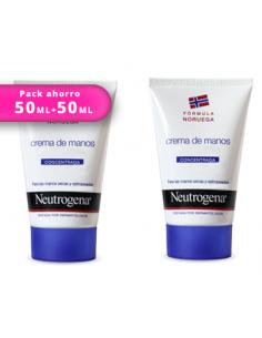DUPLO Neutrogena crema de manos concentrada 50ml+50ml