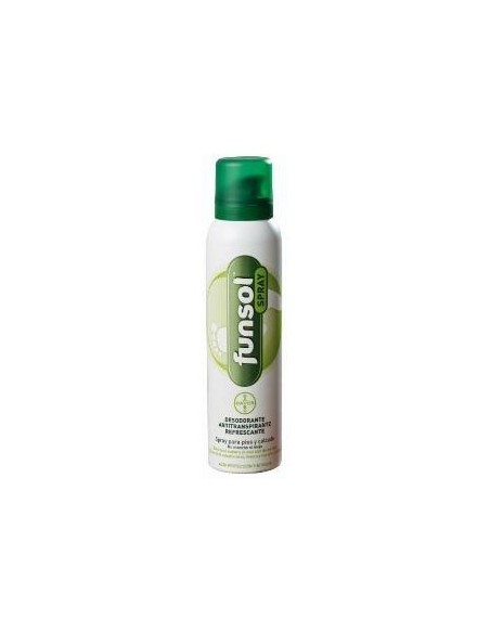 Funsol desodorante pies spray 150ml