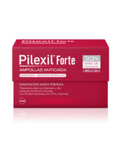 Pilexil Forte anticaida 15 ampollas