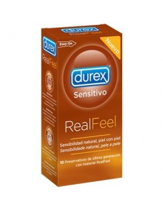 Durex real feel sin latex 10unid
