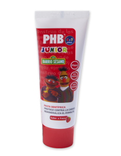 PHB pasta dentífrica Junior fresa 50ml