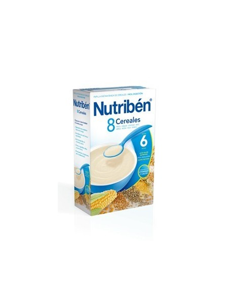Nutribén papilla 8 cereales 600gr