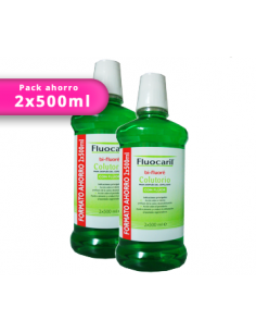 DUPLO Fluocaril colutorio 500ml+500ml