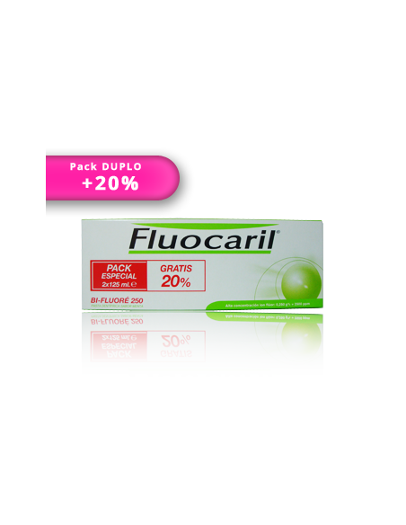 DUPLO Fluocaril pasta dentífrica 125ml+125ml