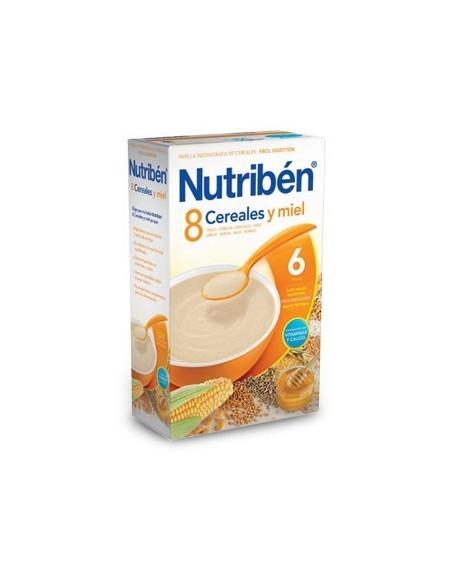 Nitribén papilla 8 cereales miel 600gr