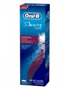 Oral B pasta 3D white luxe brillo seductor 75ml