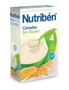 Nutribén papilla cereales sin gluten 600gr