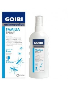 Goibi anti-mosquitos familiar spray 100ml