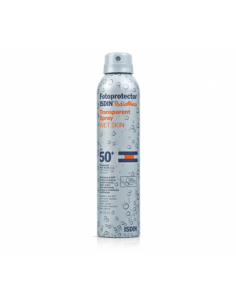 Fotoprotector Isdin pediatrics Tranparent Spray wet skin 50+ 200ml