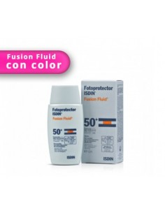 Fotoprotector Isdin SPF 50+ Fusion fluid color 50ml