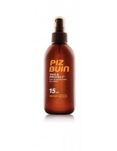 Piz Buin Tan & Protect Oil Spray 15+ 150ml