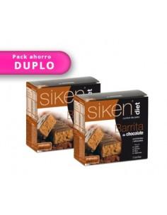 Duplo Barritas chocolate Siken Diet 5 unidades