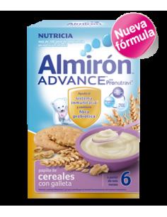 Almirón papilla Advance cereales con galletas 500gr