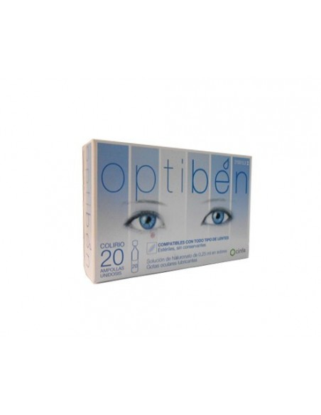 Optiben monodosis 20 unid