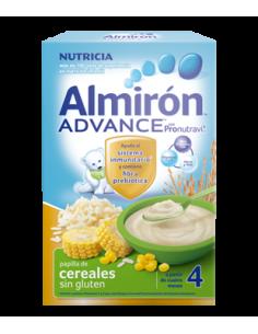 Almirón papilla Advance cereales sin gluten bífidus 500gr
