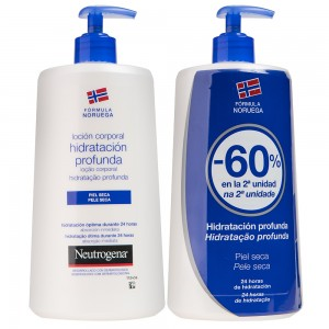 Neutrogena corporal hidratacion profunda 750+750ml