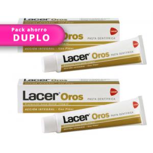 DUPLO Lacer Oros pasta dentífrica 125ml+125ml