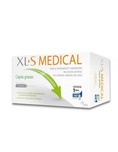 XLS medical captagrasas 180 pastillas
